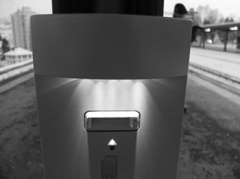 Stempelautomat mit neuen LEDs