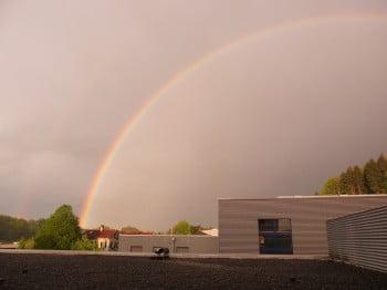 Flawil: Regenbogen