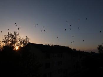 Balloonhimmel in Oberuzwil