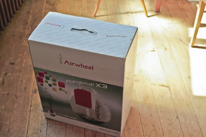 Airwheel – Das Paket
