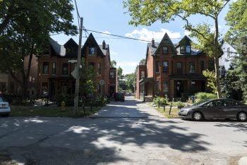 Seitenstrassen in Toronto: Ganz unscheinbar