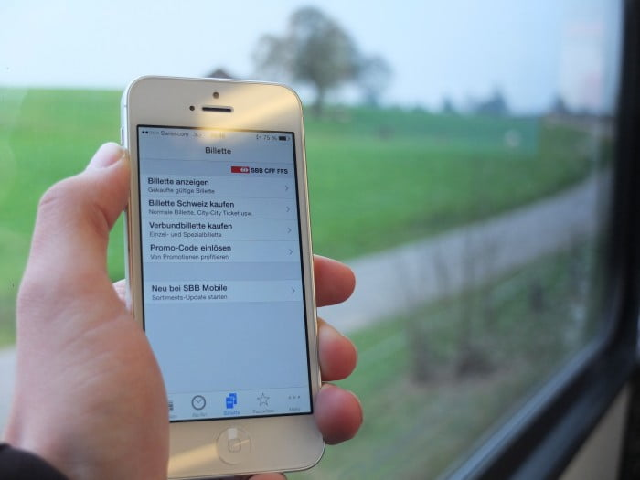 SBB Mobile Ticket