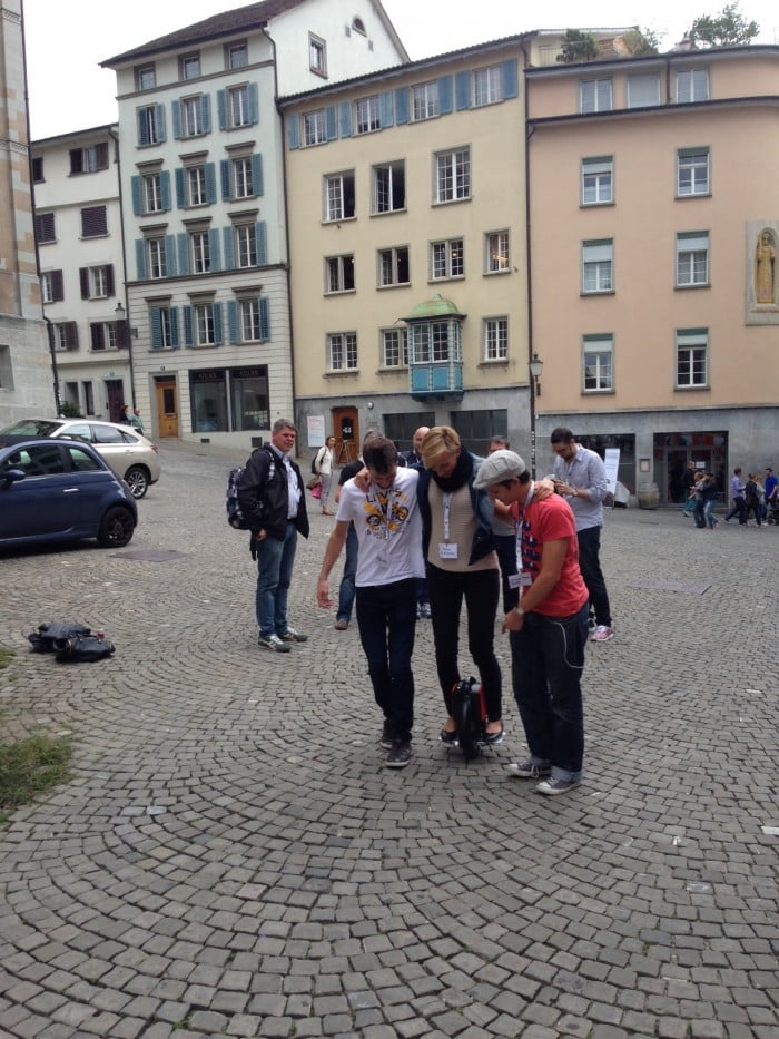 BarcampCH 2014 - Airwheel Session