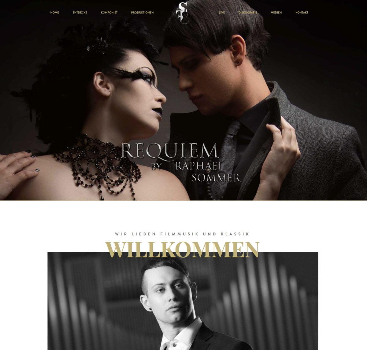 Sommerfilmmusic Website Screenshot