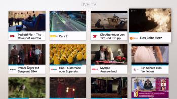 Teleboy – Live TV Übersicht
