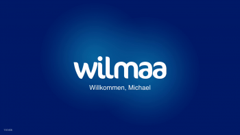 Wilmaa – Welcome Screen