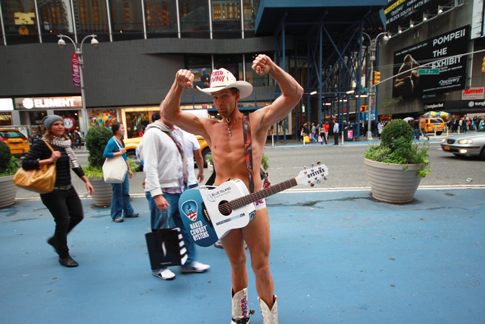 Naked Cowboy