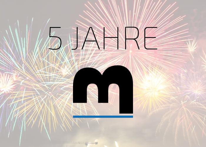 5 Jahre m_Blog