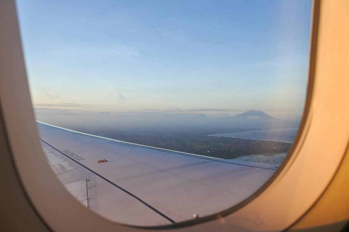 Abflug von Denpasar nach Zürich