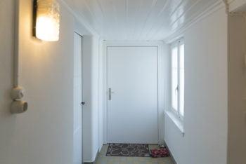 Eingang zu unserer Wohnung