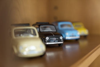 Marinas Fiat 500 Sammlung