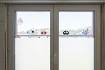 Fenster im Bad