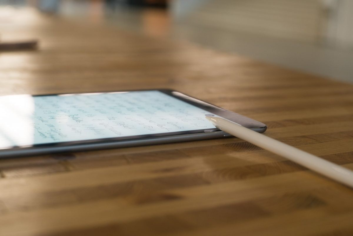 "iPad Pro 9.7"" mit Apple Pencil"