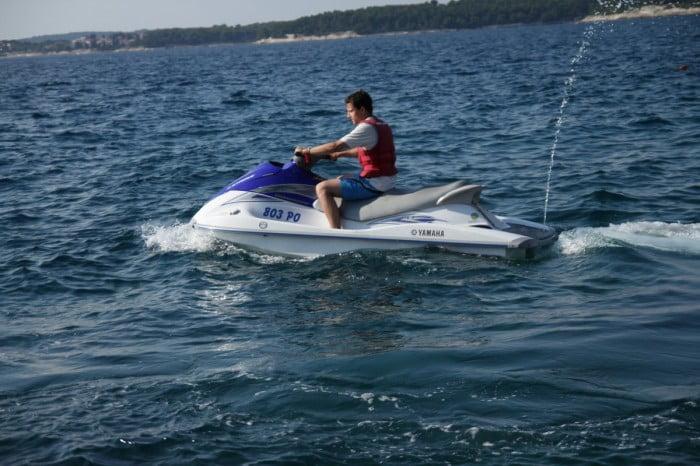 Kroatien 2013 - Jet Ski fahren