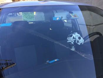 Autodreh mit spezieller Kamerahalterung