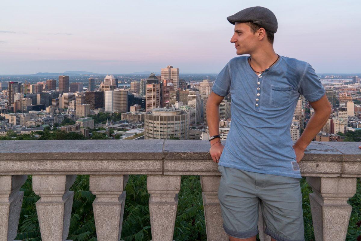 Auf dem Mont Royal – Montréal