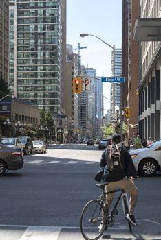 Bike vs. Car in Toronto