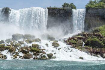 Einer der Niagara-Fälle
