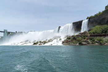 Niagara Falls vom Boot aus