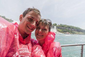Auf dem Niagara Falls Boat