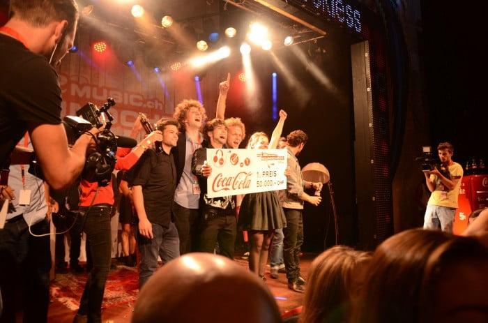neckless gewinnt den MyCokeMusic Soundcheck 2014