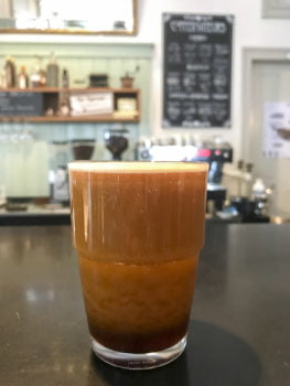 Barrel Nitro Cold Brew im Kaffeehaus St.Gallen