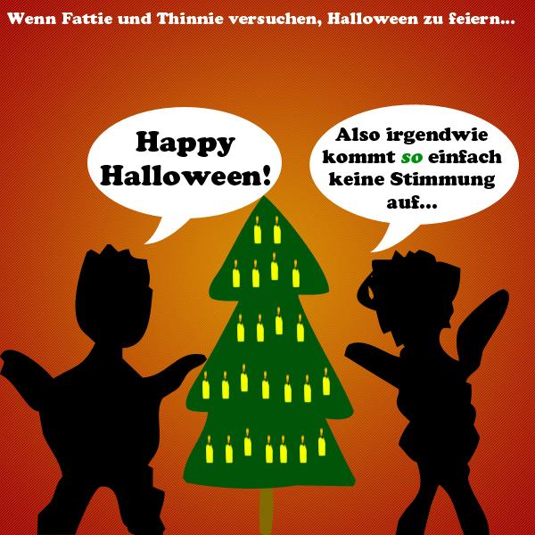 Schlechterwitz Happy Halloween Mblog