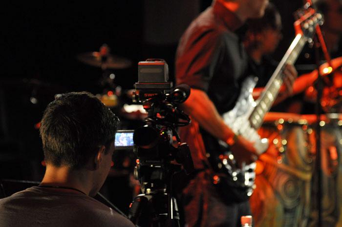 Videojournalist am jazzin